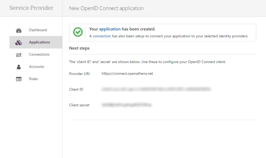 Configure OpenAthens sso