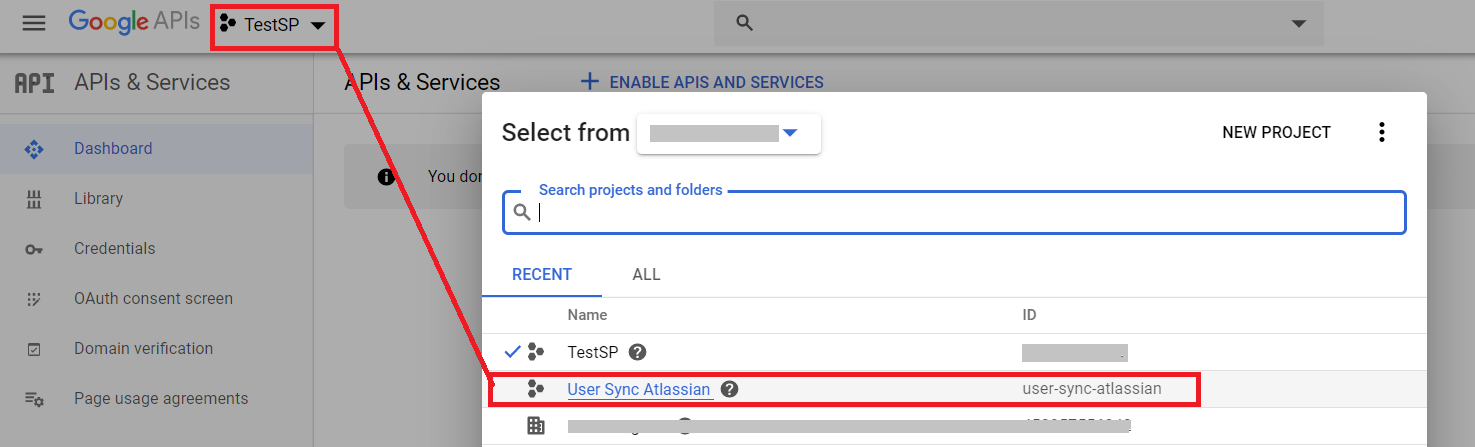 sync users, groups and directory details using G Suite into Jira and Confluence