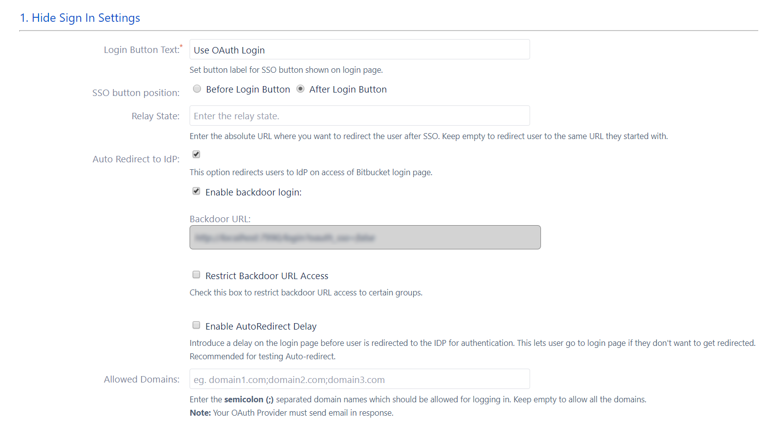 Bitbucket-OAuth/OpenID-openid-sso-sign-in-settings