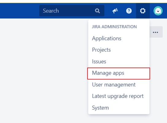 SAML Single Sign On (SSO) into Jira Service Provider, Install Jira Add-On through manage apps menu