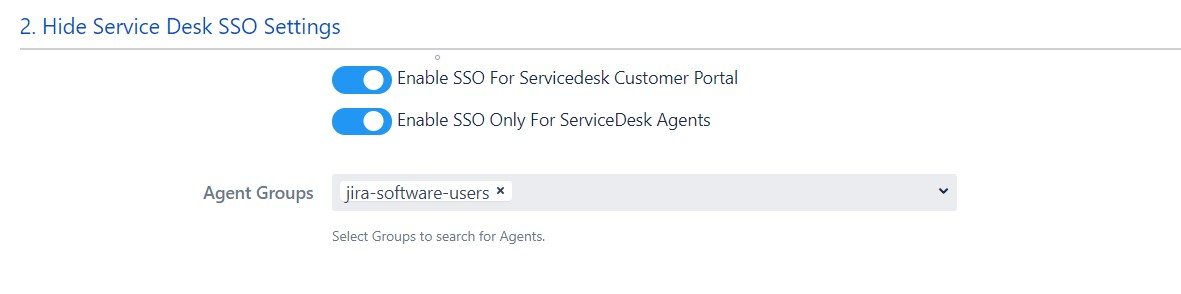 SAML Single Sign On (SSO) into Jira, Service Desk settings