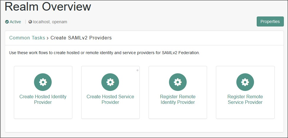 SAML Single Sign On (SSO) using OpenAM Identity Provider, Register IDP