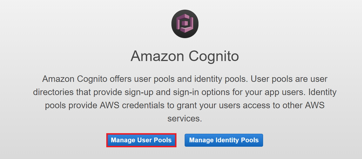 OAuth/OpenID/OIDC Single Sign On (SSO), AWS cognito SSO Login Manage user pools