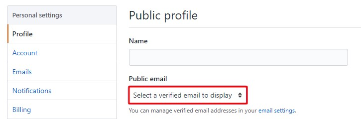 OAuth / OpenID Single Sign On (SSO) using GitHub Enterprise Identity Provider, Public profile tab