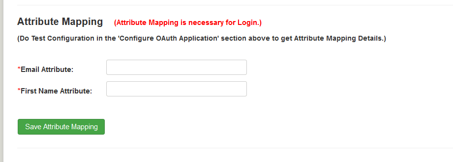 Joomla OAuth OpenID Attribute Mapping