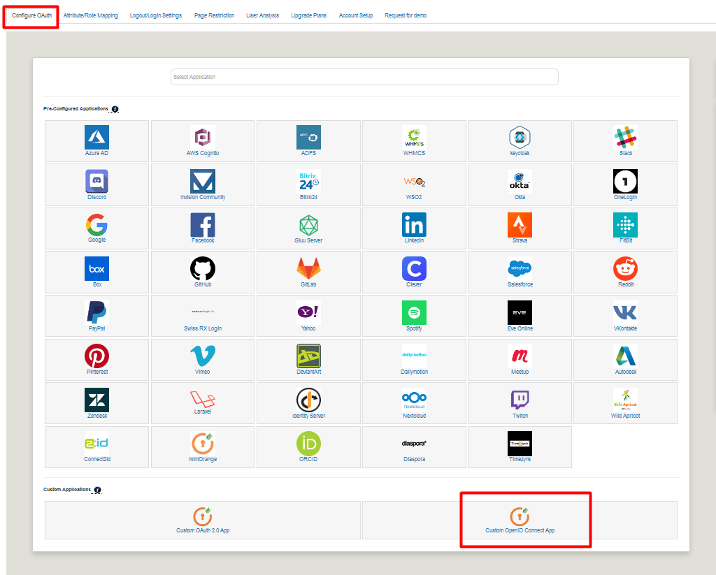 Joomla OAuth custom OpenID connect App