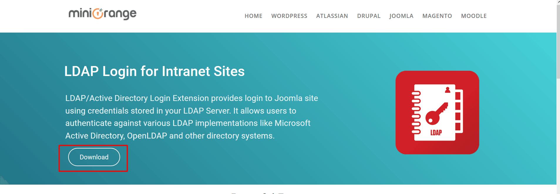 Joomla LDAP Plugin - Download