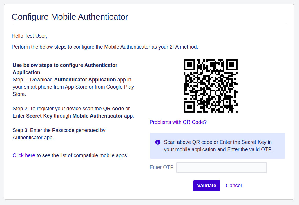 Setup Two Factor (2FA / MFA) Authentication for Jira using OTP, KBA, TOTP methods mobile authentication