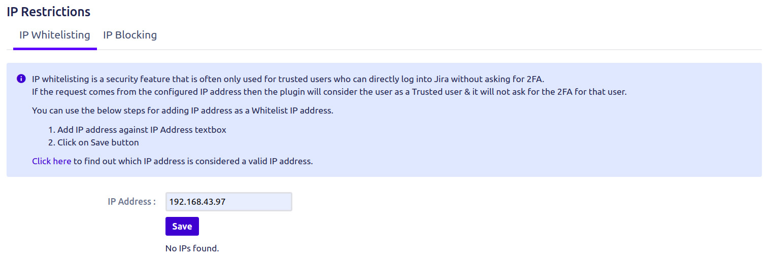 Setup Two Factor (2FA / MFA) Authentication for Jira using OTP, KBA, TOTP methods IP whitelisting
