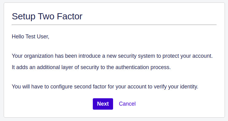 Setup Two Factor (2FA / MFA) Authentication for Jira using OTP, KBA, TOTP methods for end user