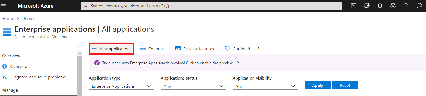User provisioning with Azure AD of SCIM Standard - In Azure AD portal Add new application