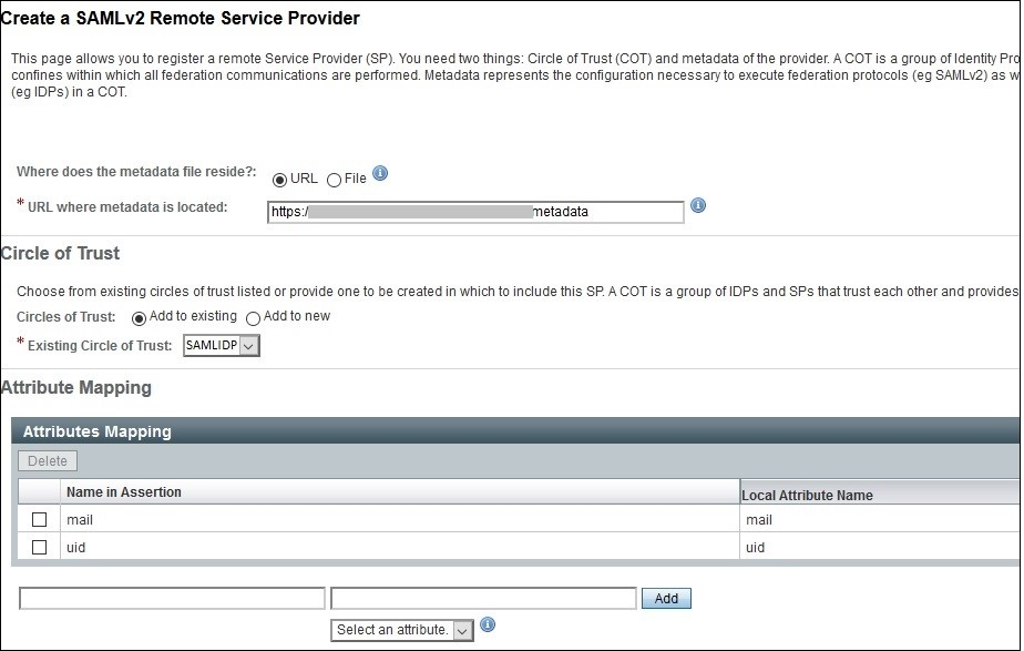 SAML Single Sign-On (SSO) using OpenAM Identity Provider (IdP), Click ok after verifying IDP and SP from federation