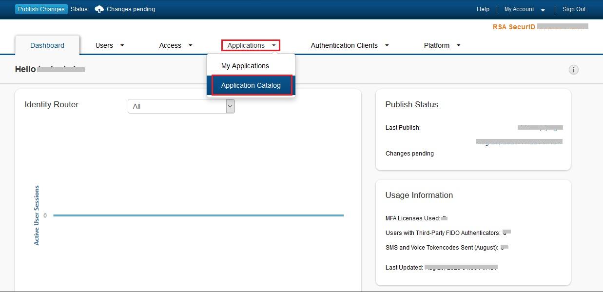 Configure RSA SecurID as IDP - SAML Single Sign-On(SSO) for WordPress - RSA SecurID SSO Login RSA SecurID sso-1