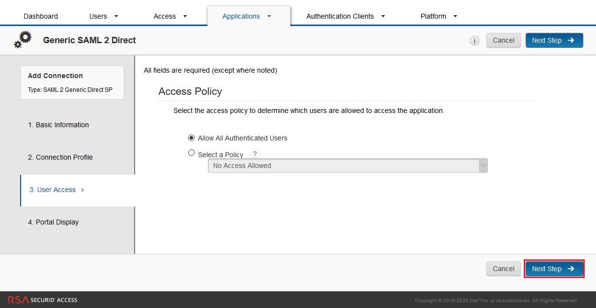 Configure RSA SecurID as IDP - SAML Single Sign-On(SSO) for WordPress - RSA SecurID SSO Login RSA SecurID sso-10