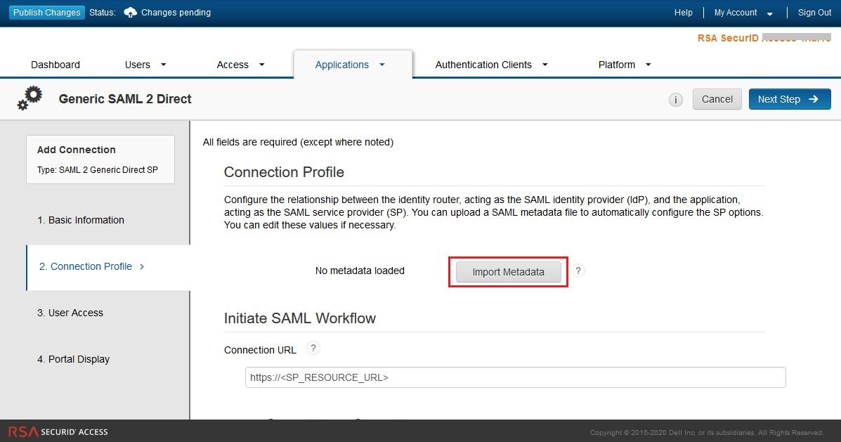 Configure RSA SecurID as IDP - SAML Single Sign-On(SSO) for WordPress - RSA SecurID SSO Login RSA SecurID sso-5