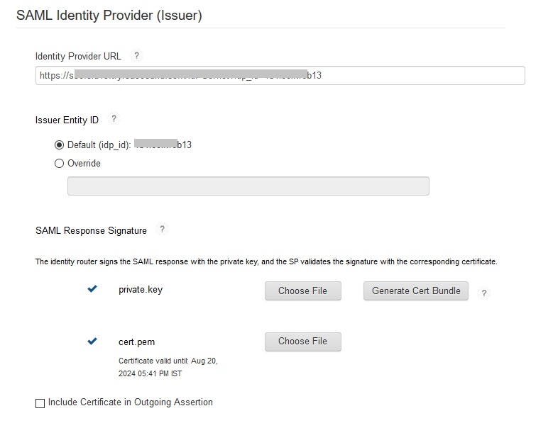 Configure RSA SecurID as IDP - SAML Single Sign-On(SSO) for WordPress - RSA SecurID SSO Login RSA SecurID sso-9