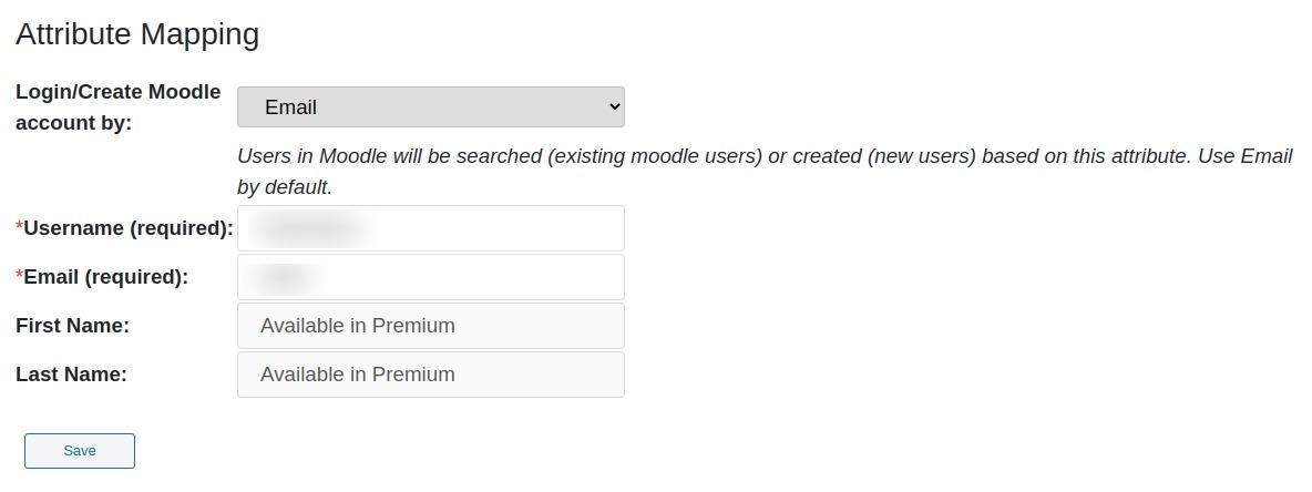 wordpress saml attribute mapping
