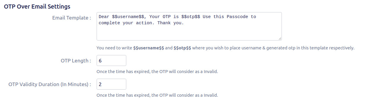 Setup Two Factor (2FA / MFA) Authentication for confluence using OTP, KBA, TOTP methods otp over email setting