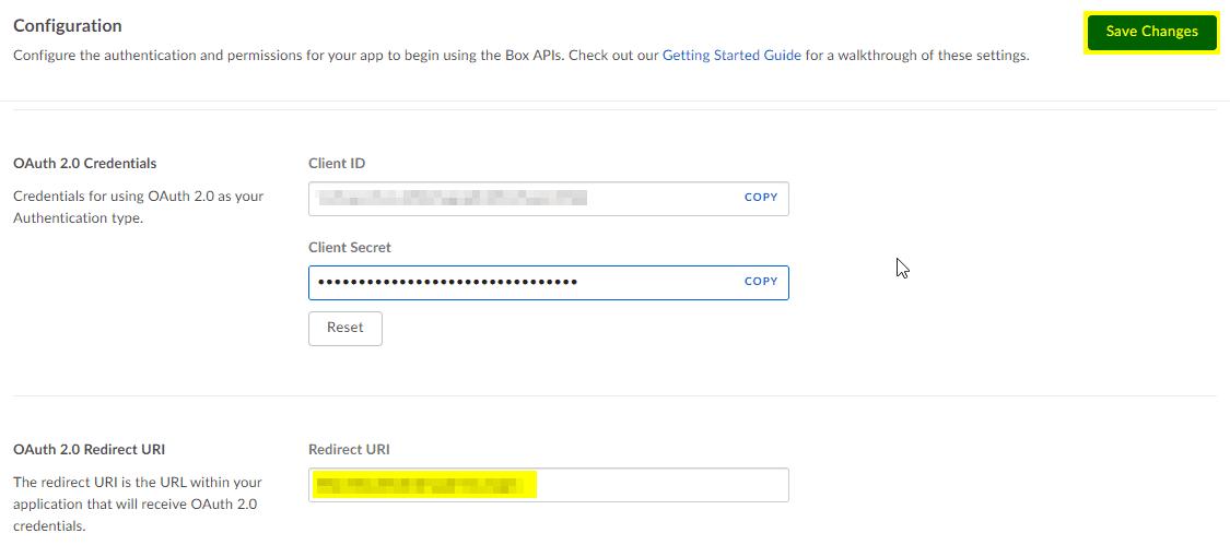 Box Credentials Drupal
