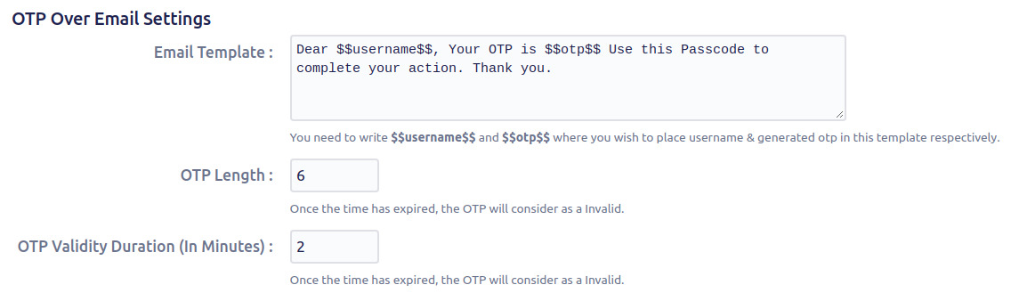 Setup Two Factor (2FA / MFA) Authentication for Jira using OTP, KBA, TOTP methods otp over email setting