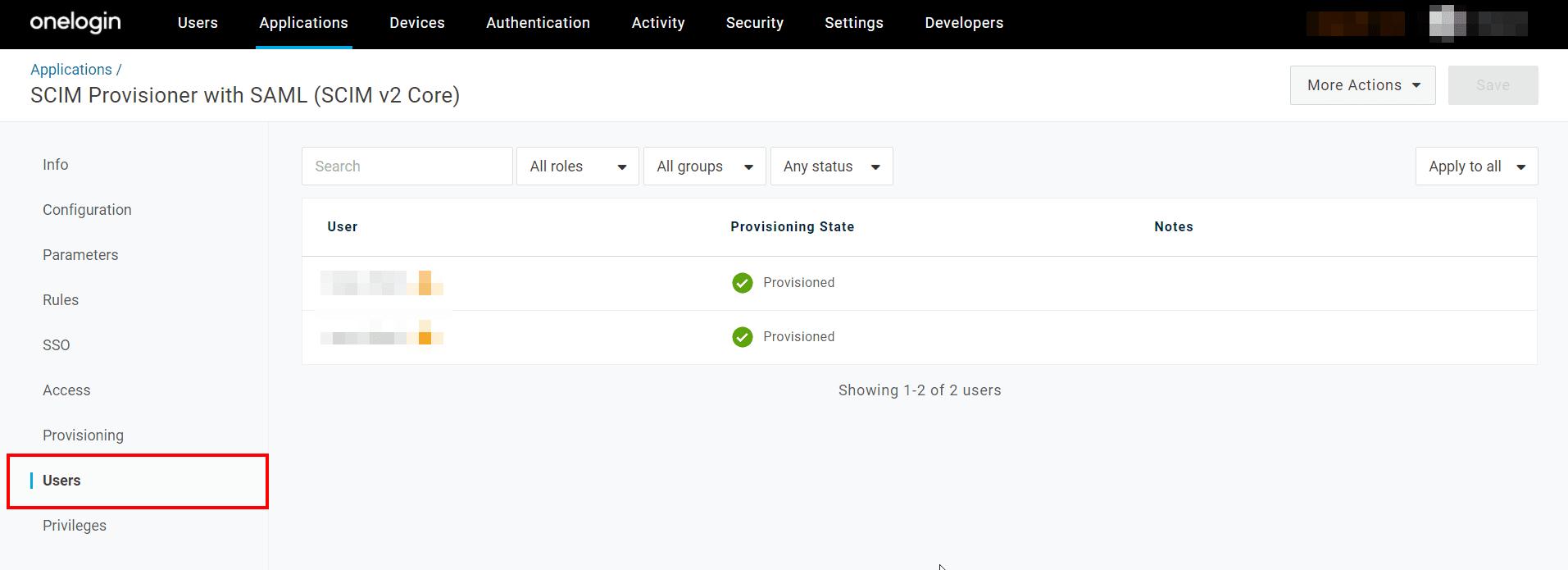 SCIM Azure Setup App