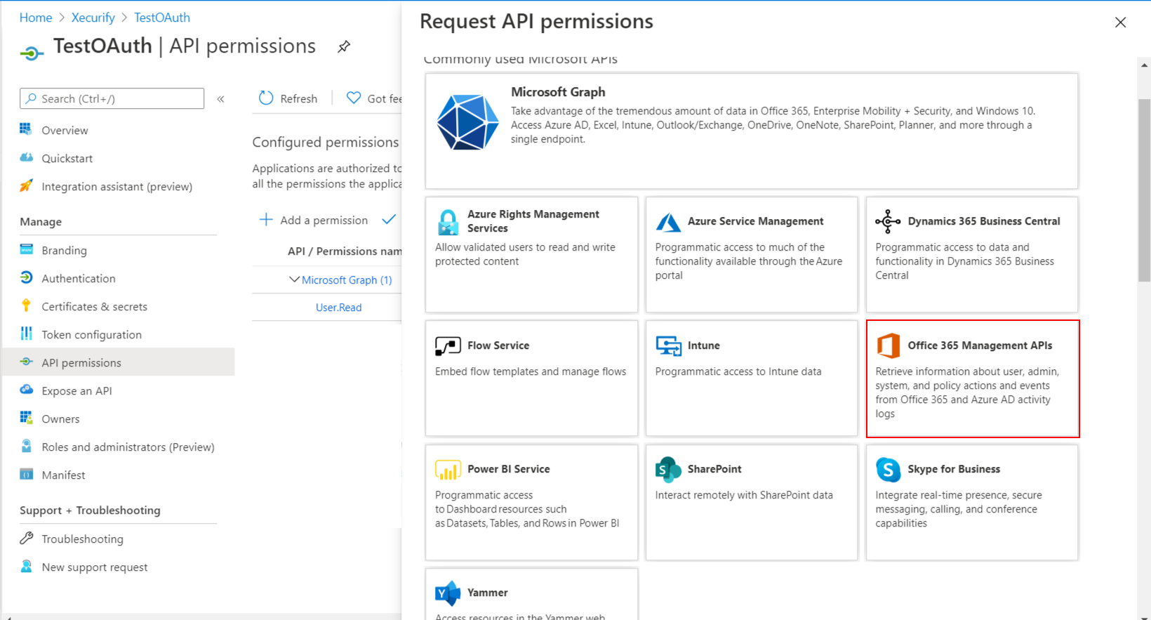 OAuth/OpenID/OIDC Single Sign On (SSO), office 365 SSO office 365 management