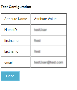 asp.net saml sso ADFS : test configuration settings