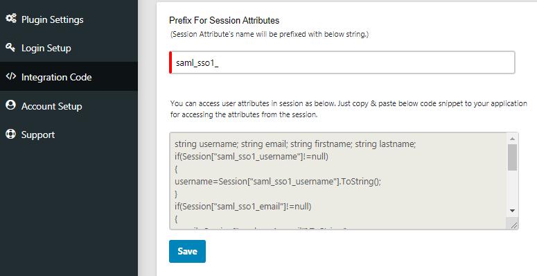 asp.net saml sso azure ad : integration code