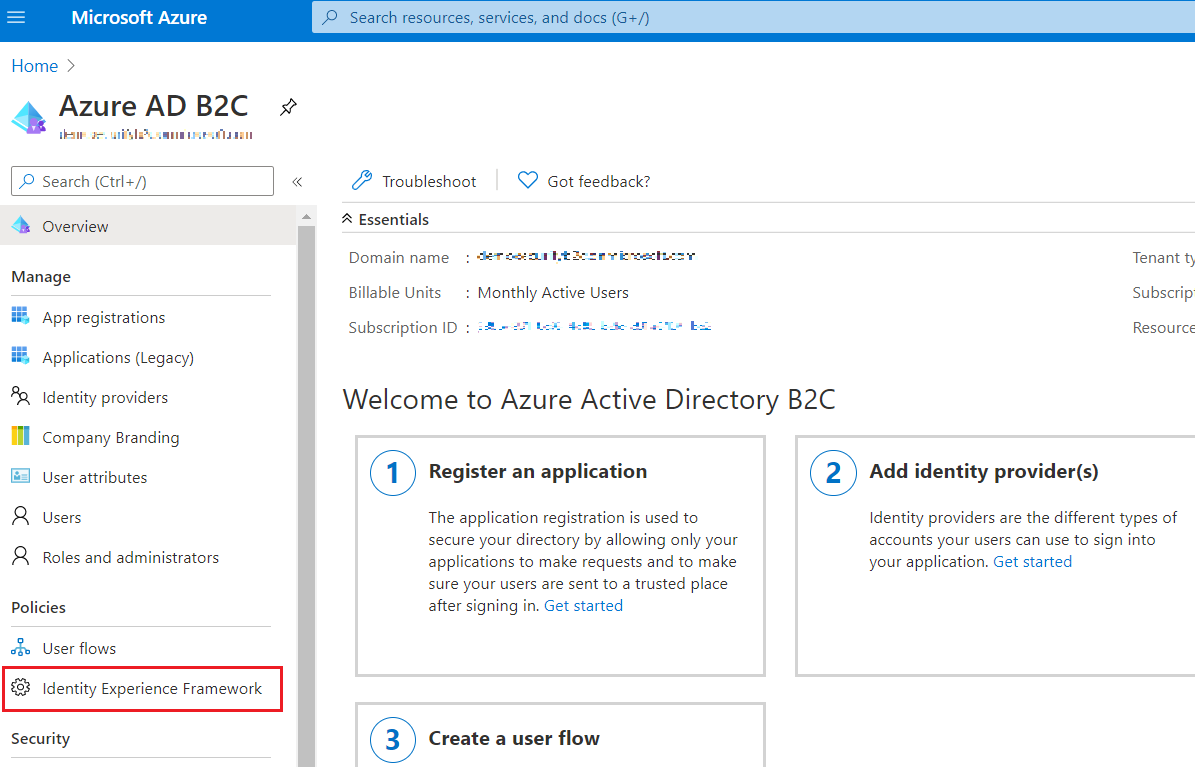 SAML Single Sign-On (SSO) using Azure B2C as Identity Provider (IdP),for SAML 2.0 Azure B2C, framework