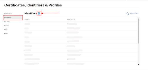 apple login user Identifiers