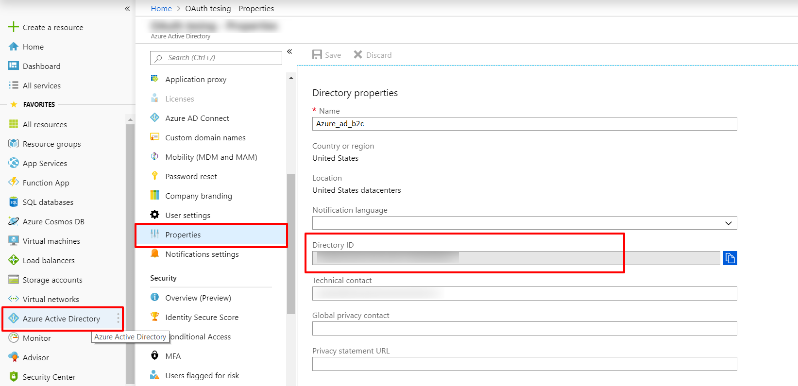 OAuth/OpenID/OIDC Single Sign On (SSO), AzureB2C SSO Login Azure Active Directory .png