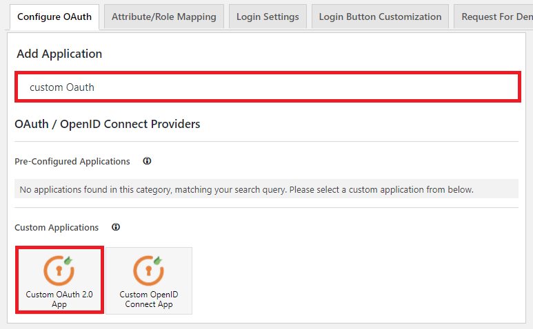 wordpress oauth client plugin sso : save settings