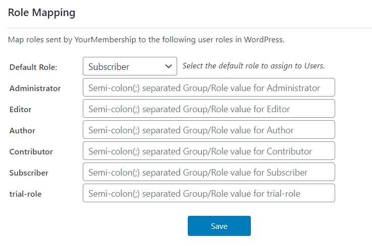 WordPress YourMembership Single Sign-On (SSO)