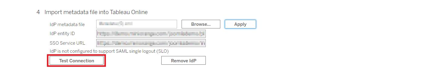 enable Tableau sso dashboard