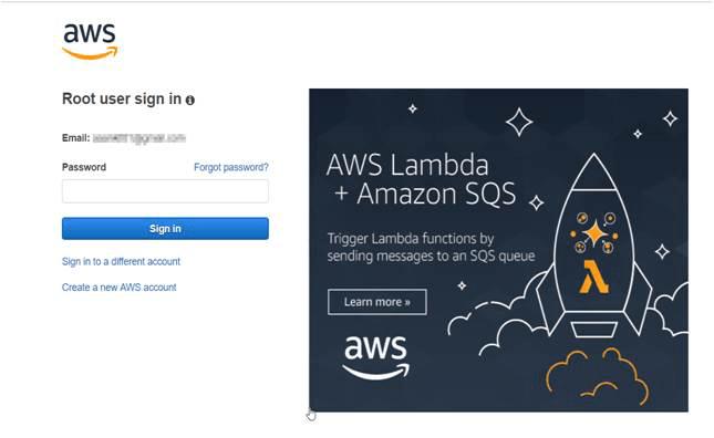 OAuth/OpenID Amazon Cognito Single Sign On SSO Login to Amazon Console