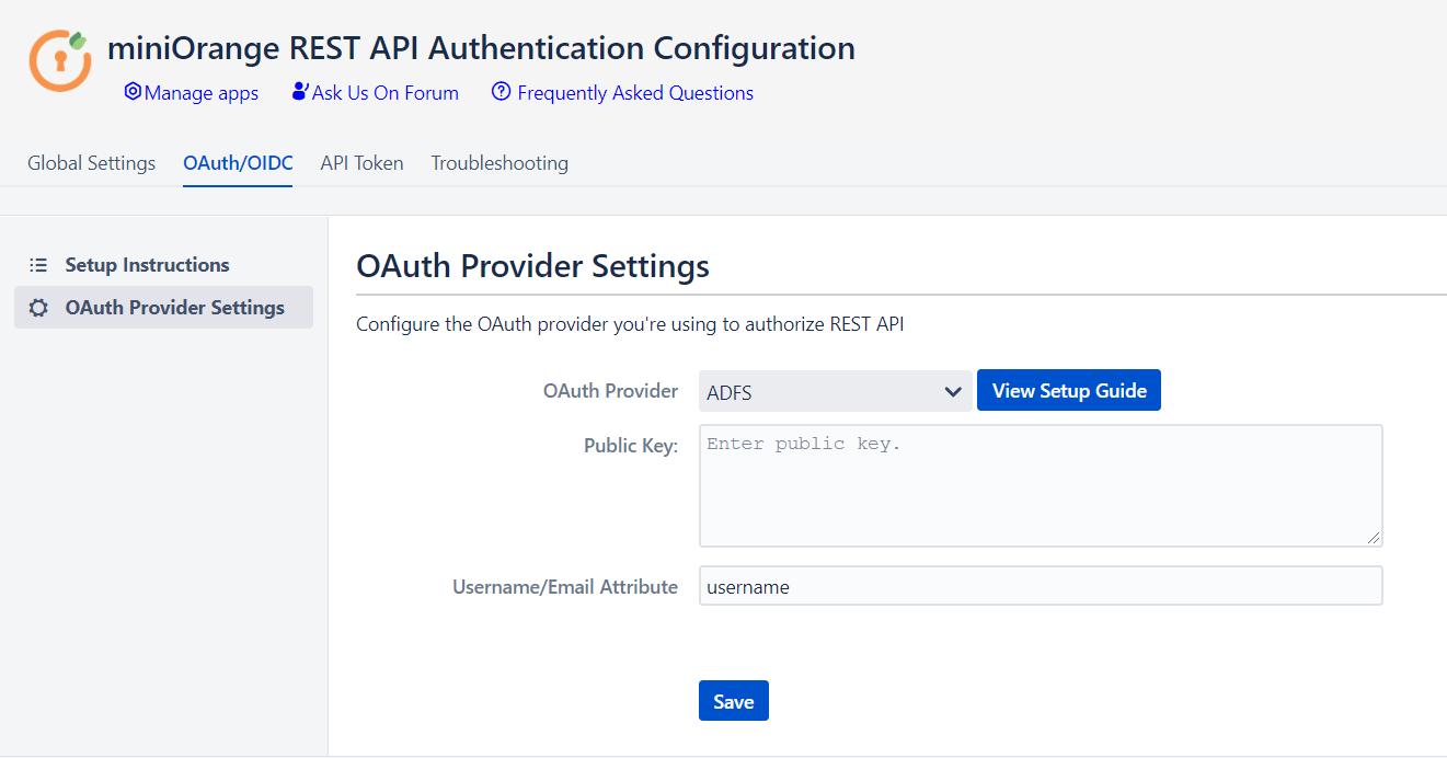 Rest API OAuth, API token, API Key authentication for Jira and Confluence ADFS